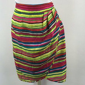 NWT Nanette Lepore Multicolor Pencil Skirt Size 4